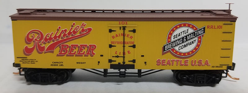 Rainier Beer reefer