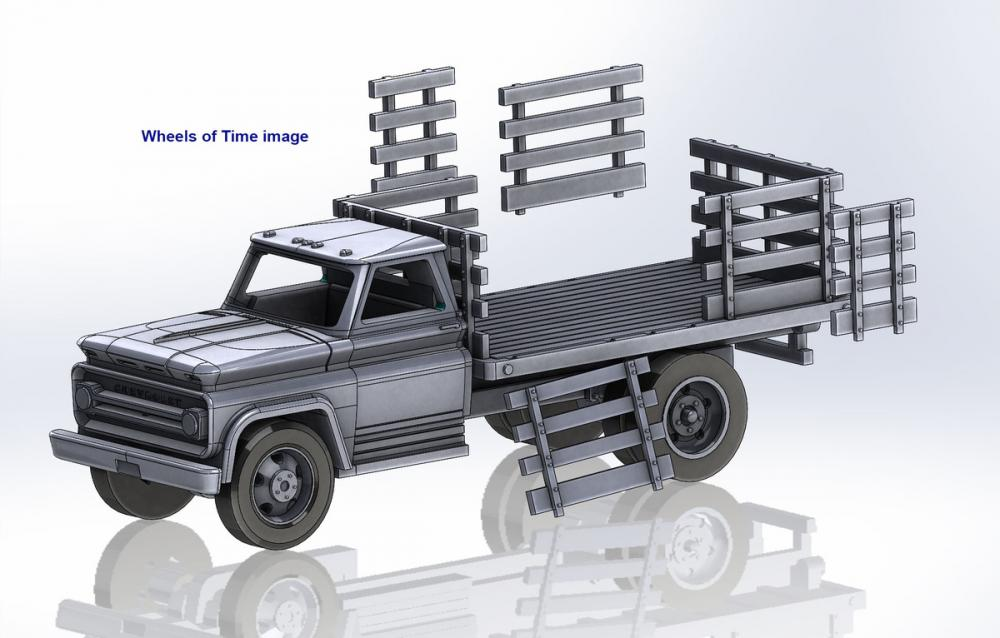 12 Foot Stake Flatbed Truck kit